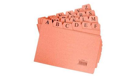 Fichero dossier carpetas for Ficheros para oficina